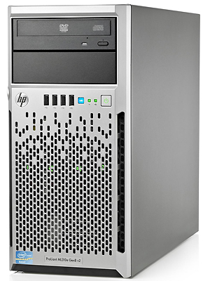 Сервер HP ProLiant ML310e Gen8 v2 (4U)