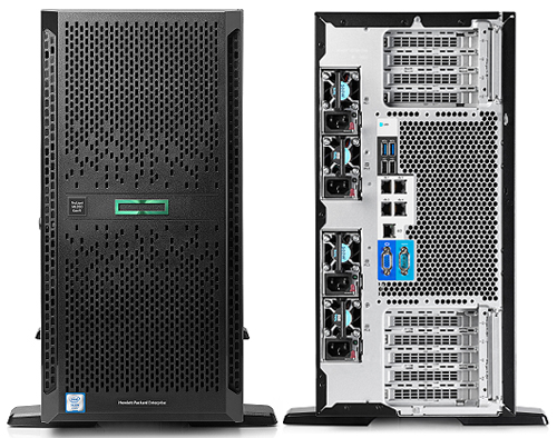 Сервер HP ProLiant ML350 Gen9 (5U)